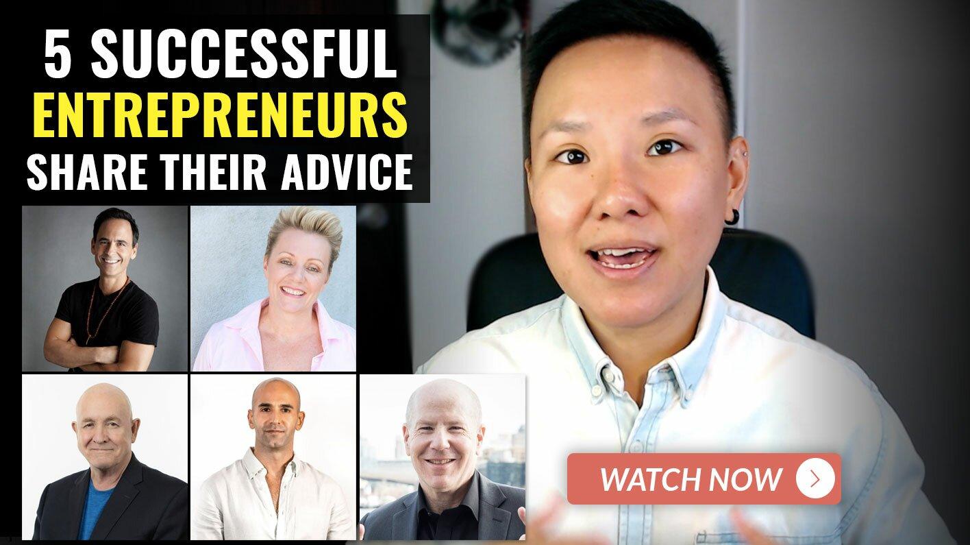 How Successful People Think - Mindset Of 5 Millionaire Entrepreneurs Feat. Derek Rydall Natalie Ledwell David Hans-Barker JV Crum III